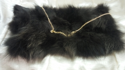 Black fox (real furs)