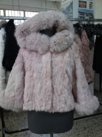 Paws pink baby lamb with hood No. 44-60 cm 350 $