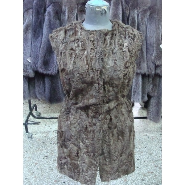 Fur vest coat natur from Siatista 300 $