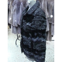 Fur coat from paws and mink No 42 470 $